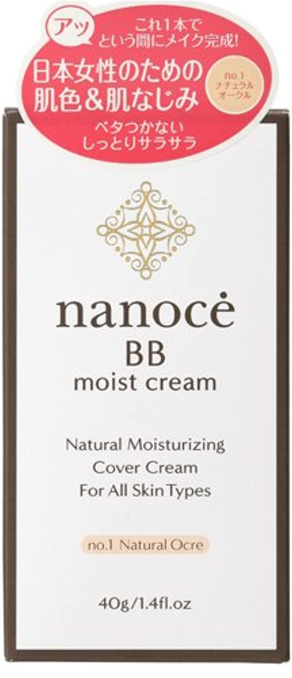 なぜなら部屋を掃除する指導するナノーチェ BBクリーム ナチュラルオークル  40g