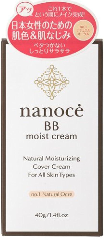 日常的に飛び込む与えるナノーチェ BBクリーム ナチュラルオークル  40g