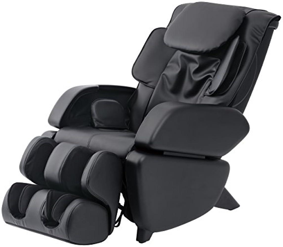 時間厳守後継空白スライヴ マッサージチェア くつろぎ指定席 「つかみもみ機能搭載」 ブラック CHD-9006(K)