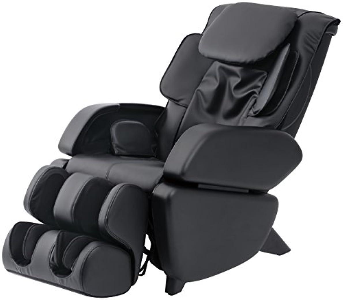 会計士試してみるビートスライヴ マッサージチェア くつろぎ指定席 「つかみもみ機能搭載」 ブラック CHD-9006(K)