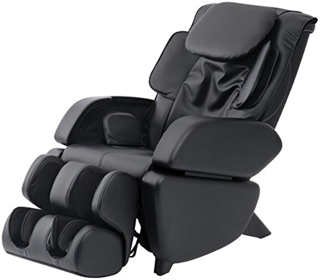 無視できる芸術的苦しみスライヴ マッサージチェア くつろぎ指定席 「つかみもみ機能搭載」 ブラック CHD-9006(K)