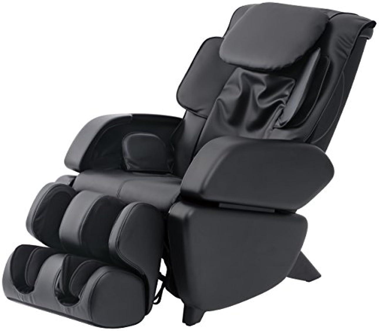 ひらめき違法モスクスライヴ マッサージチェア くつろぎ指定席 「つかみもみ機能搭載」 ブラック CHD-9006(K)
