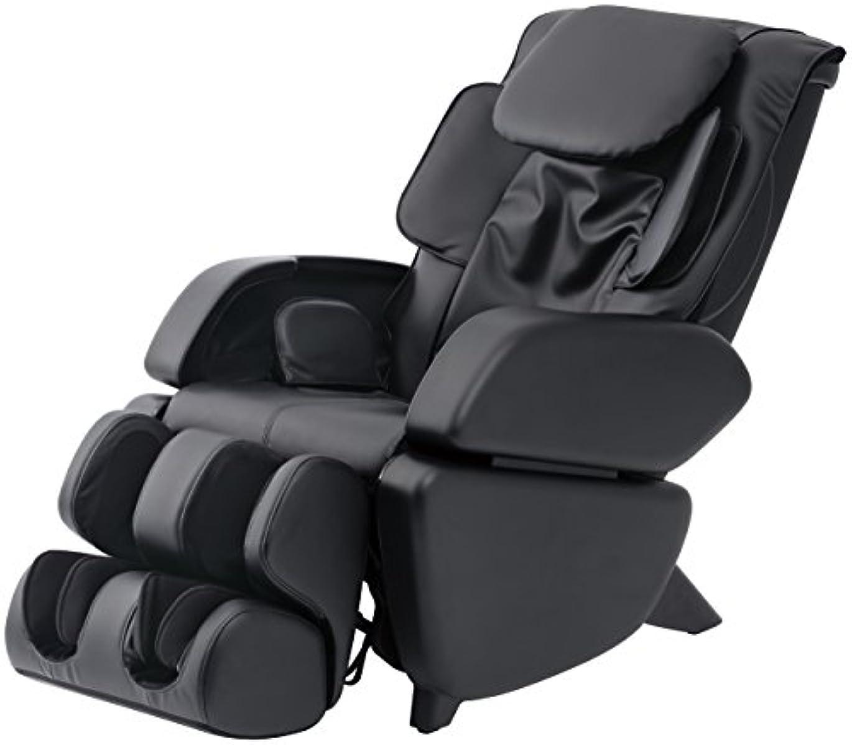 めんどり軽減破産スライヴ マッサージチェア くつろぎ指定席 「つかみもみ機能搭載」 ブラック CHD-9006(K)