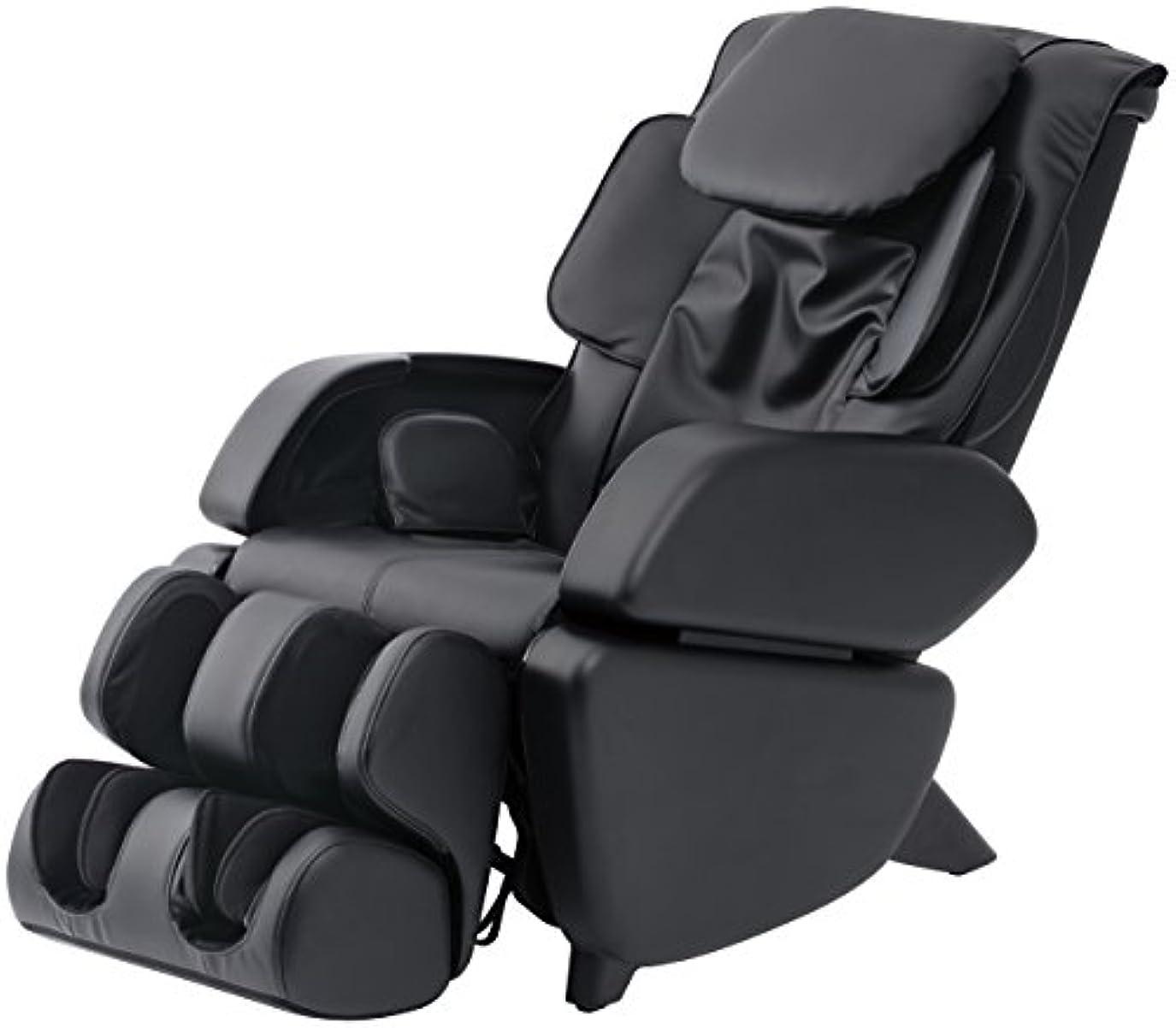 疑いごちそうバスタブスライヴ マッサージチェア くつろぎ指定席 「つかみもみ機能搭載」 ブラック CHD-9006(K)