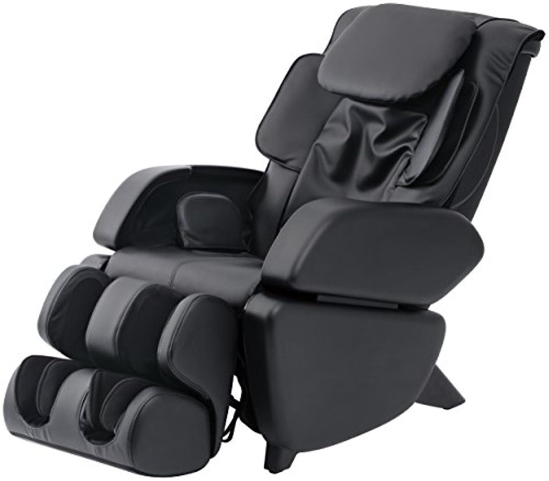 ファイアル体現するモニカスライヴ マッサージチェア くつろぎ指定席 「つかみもみ機能搭載」 ブラック CHD-9006(K)