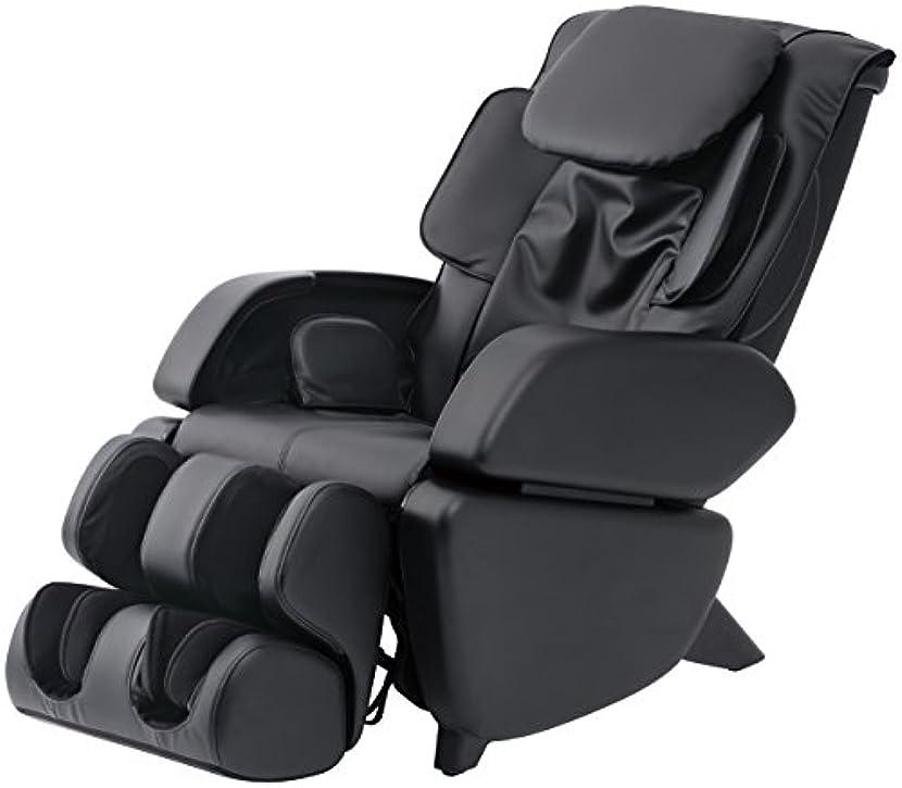 最大化する式日スライヴ マッサージチェア くつろぎ指定席 「つかみもみ機能搭載」 ブラック CHD-9006(K)