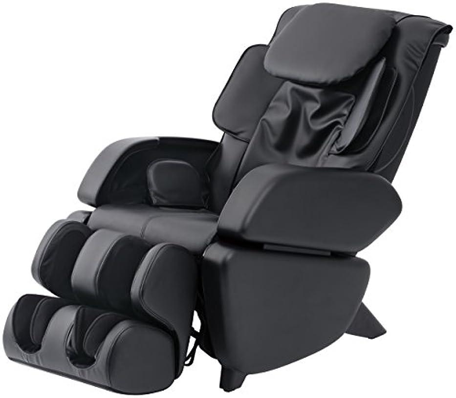 白内障エゴイズム理容師スライヴ マッサージチェア くつろぎ指定席 「つかみもみ機能搭載」 ブラック CHD-9006(K)