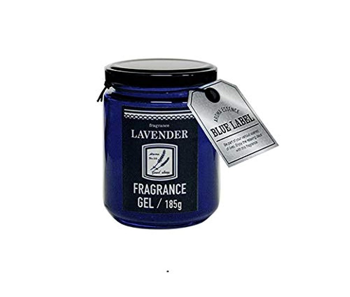 クリエイティブ端末ウルルアロマエッセンスブルーラベル フレグランスジェル185g ラベンダー(消臭除菌 日本製 心落ち着ける香り)