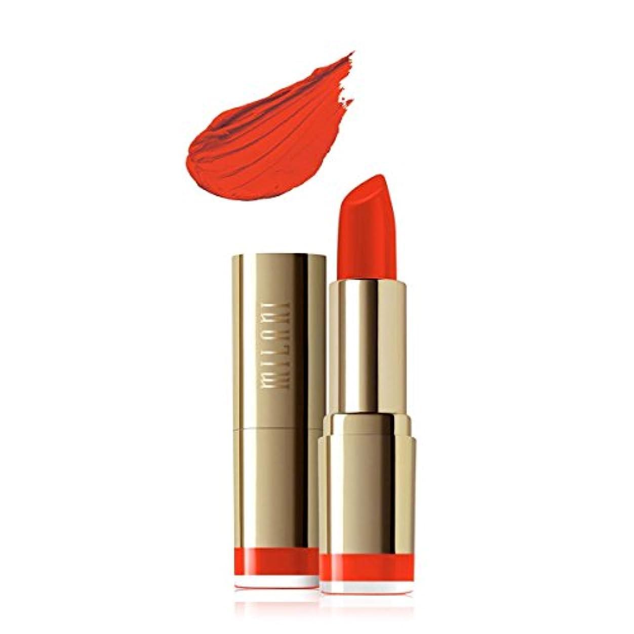 練る発言する服を片付けるMILANI Color Statement Moisture Matte Lipstick - Matte Passion (Vegan) (並行輸入品)