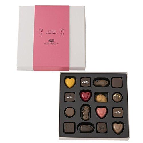 【期間限定】ピエールマルコリーニ チョコレート バレンタイン セレクション 16個入 バレンタイン ホワイトデー (16個入)