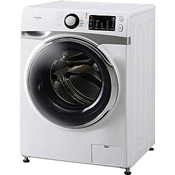 アイリスオーヤマ ドラム式洗濯機 7.5kg 温水洗浄機能付き 左開き 幅595mm 奥行672mm 2018年モデル HD71