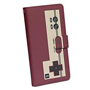 手帳型スマートフォンケース di017(A)【ファミコン】