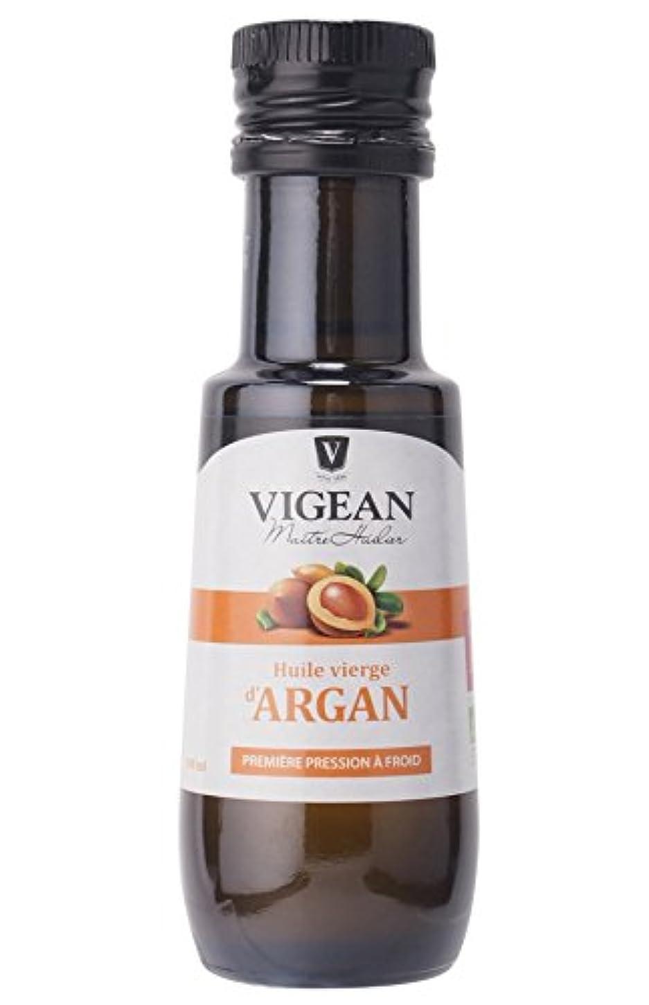 ねじれドキドキ絶滅したヴィジャン オーガニックアルガンオイル VIGEAN ORGANIC ARGAN OIL 100ML 【AB】認定 仏産