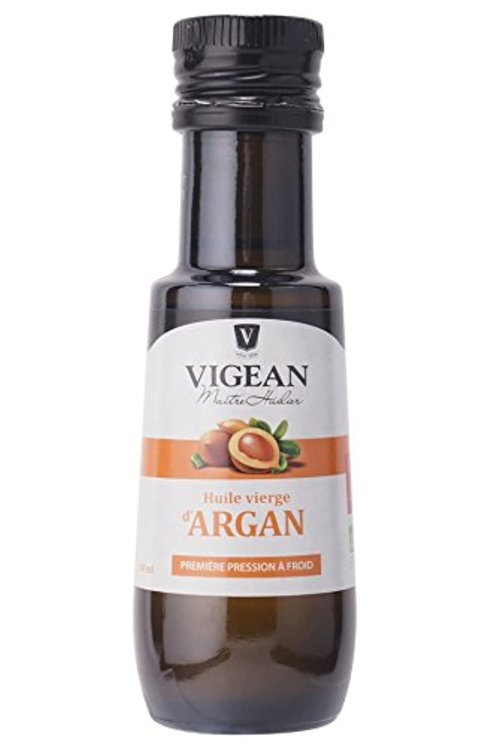 ビジュアル公爵トレーダーヴィジャン オーガニックアルガンオイル VIGEAN ORGANIC ARGAN OIL 100ML 【AB】認定 仏産