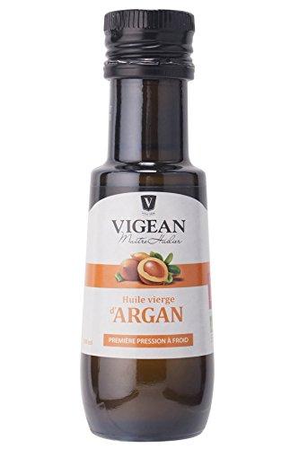 VIGEAN ヴィジャン オーガニックアルガンオイル VIGEAN ORGANIC ARGAN OIL 100ML 認定 仏産