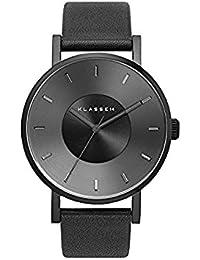 [クラス14]KLASSE14 腕時計 ウォッチ VOLARE 42mm レザーベルト シンプル ファッション ブラック メンズ レディース [並行輸入品]