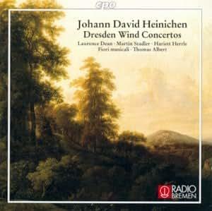 ハイニヒェン:ドレスデン管楽協奏曲集