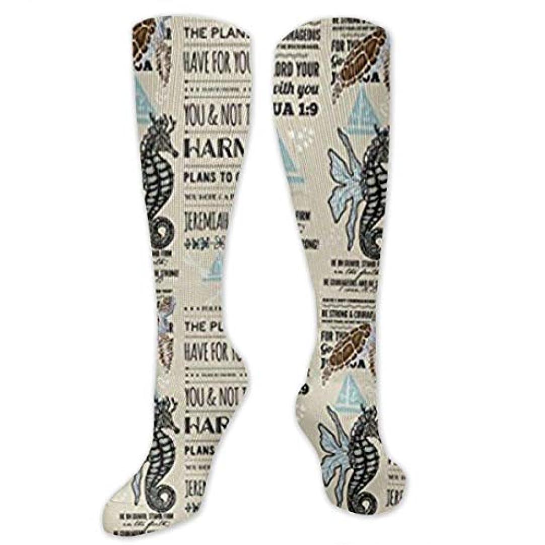バンジョー限り接触靴下,ストッキング,野生のジョーカー,実際,秋の本質,冬必須,サマーウェア&RBXAA Seahorse Be Strong Socks Women's Winter Cotton Long Tube Socks Cotton...