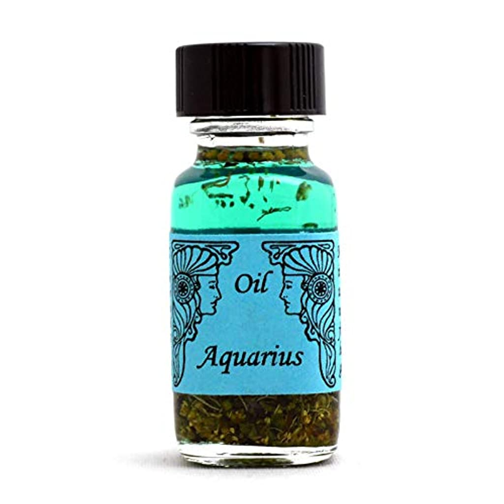 機転旅希少性アンシェントメモリーオイル 12星座オイル(占星術オイル)Aquarius 水瓶座 1月20日~2月18日