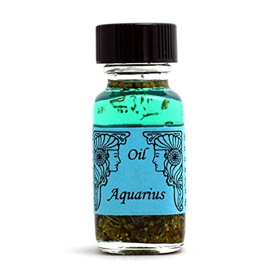 オーナメントなる不格好アンシェントメモリーオイル 12星座オイル(占星術オイル)Aquarius 水瓶座 1月20日~2月18日