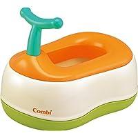 コンビ Combi トイレトレーニング ベビーレーベル おまるでステップ レーベルオレンジ (LO) (6ヶ月頃から対象)