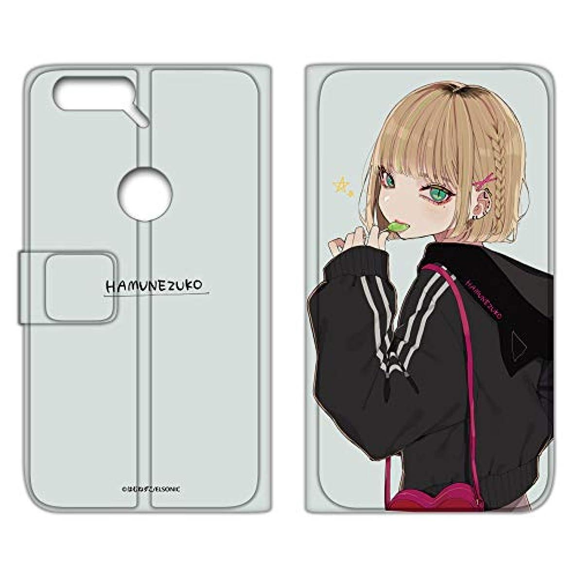 添加種類妖精WHITENUTS はむねずこ Nexus6P H1512 ケース 手帳型 薄型プリント手帳 キャンディガール1C (hm-013) TC-C1293348/LL