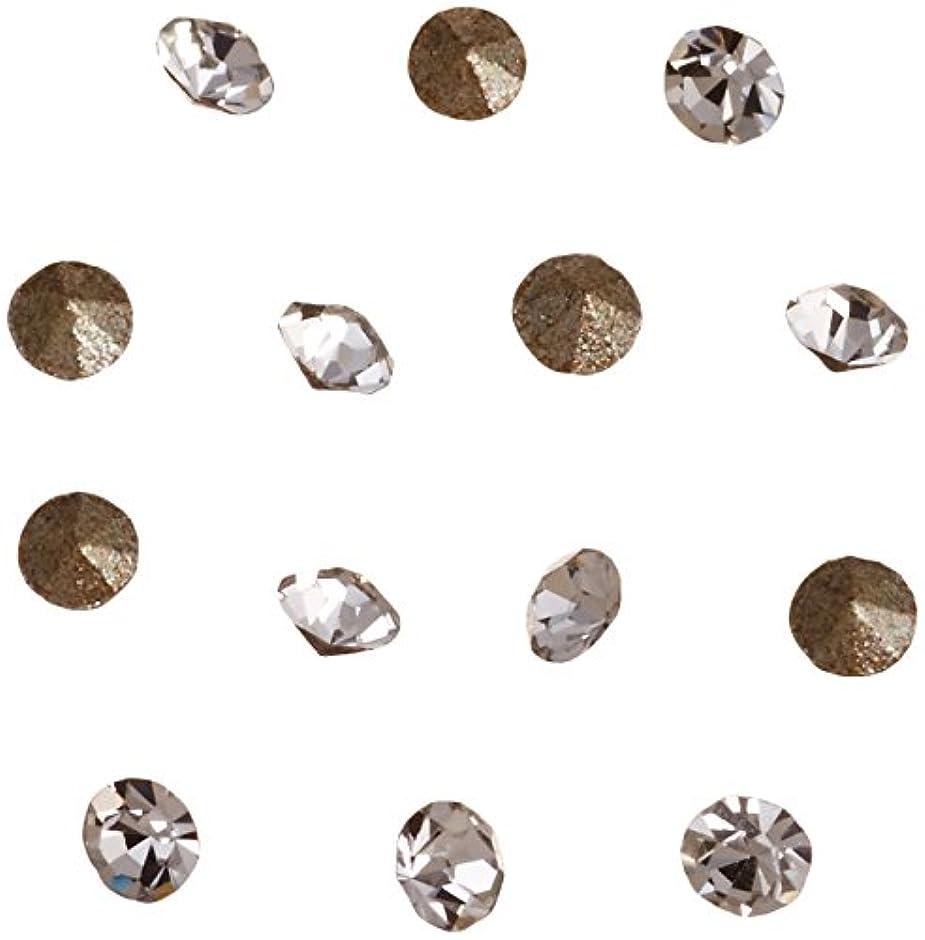 悪意のある照らす番目ネイルアートパーツ Vカットストーン クリスタル PP 4   約1.1~1.2mm 埋込式ラインストーン