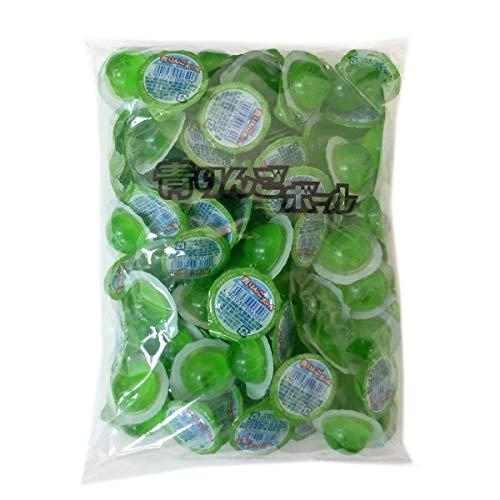 青りんごボールゼリー 100個入×6袋 カップゼリー 駄菓子