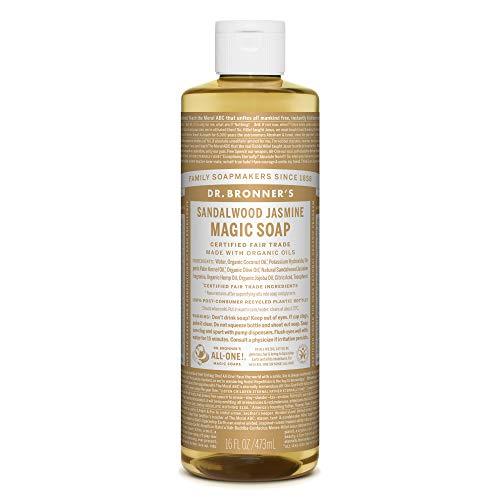 ドクターブロナー マジックソープ magic soap サンダルウッド&ジャスミン 473ml ネイチャーズウェイ