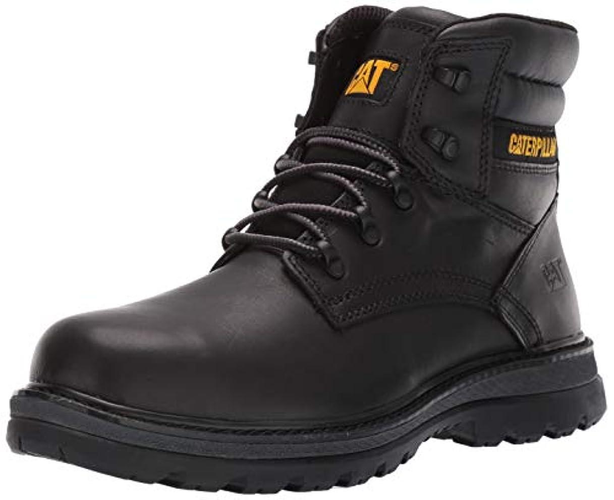 戦術ホイットニー数学的な[CATERPILLAR] Men's Fairbanks Steel Toe Industrial Shoe