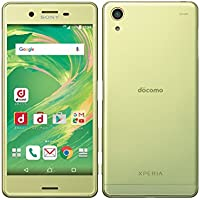 Xperia X Performance SO-04H Lime Gold