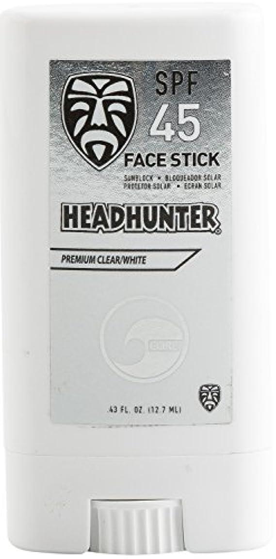 ファックス交差点台無しにHEAD HUNTER(ヘッドハンター)日焼止め スティック [CLEAR] FACE STICK SPF45 強力ウォータープルーフ