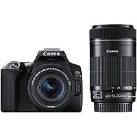 Canon デジタル一眼レフカメラ EOS Kiss X10 ダブルズームキット ブラック EOSKISSX10BK-WKIT