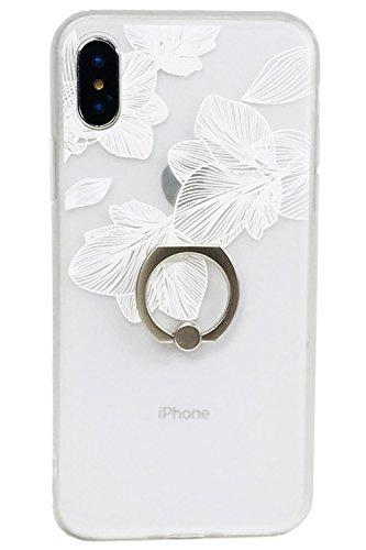 iphone アイフォン ケース レース調 花柄 フラワー ...
