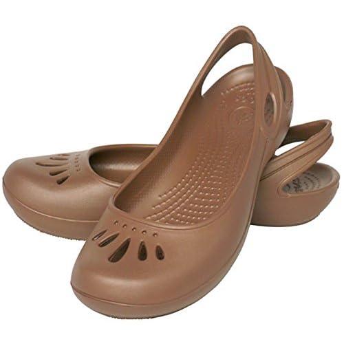 [クロックス] crocs セア フラット ウィメンズ bronze W7(23cm)