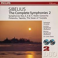 シベリウス:交響曲全集2