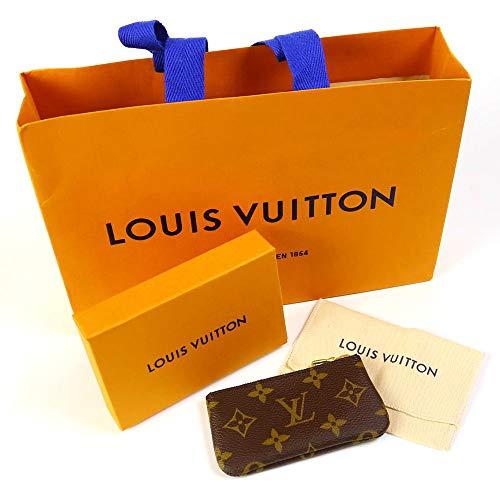 [セット品]正規化粧箱&正規紙袋付き ルイヴィトン LOUIS VUITTON コインケース モノグラム ポシェット クレ キーリング付 小銭入れ 財布 メンズ レディース M62650