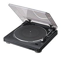 DENON アナログレコードプレーヤー フォノイコライザー付 フルオート カートリッジ付属 ブラック DP-29FK