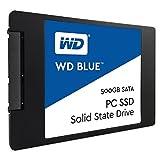WD SSD 内蔵SSD 2.5インチ 500GB WD Blue WDS500G1B0A/SATA3.0/3年保証