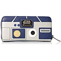 Loungefly Star Wars R2-D2 Zip Around Wallet