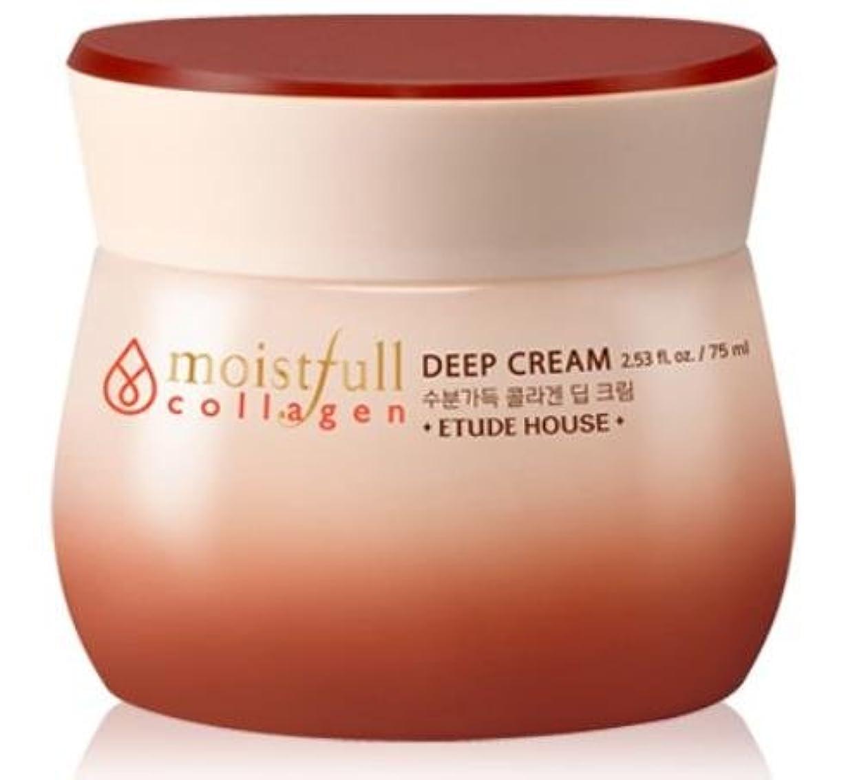 世界的にイヤホンソース[エチュードハウス] ETUDE HOUSE [モイストフルコラーゲ 深いクリーム] (Moistfull Collagen Deep Cream) [並行輸入品]