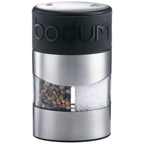 Bodum Australia Pty Manual Grinder Salt and Pepper, Black, 11002-01