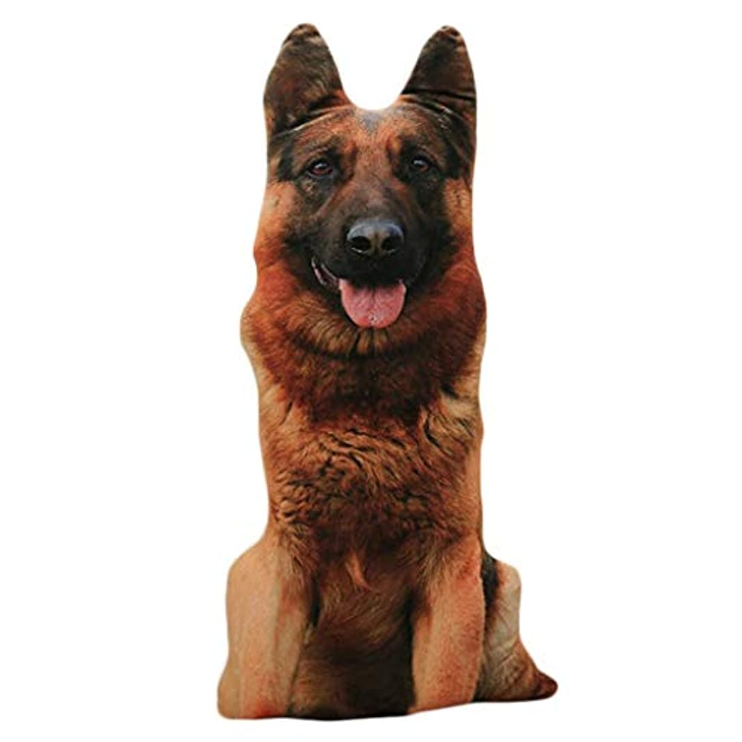 じゃがいも無臭どうしたのLIFE 装飾クッションソファおかしい 3D 犬印刷スロー枕創造クッションかわいいぬいぐるみギフト家の装飾 coussin decoratif クッション 椅子