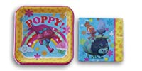 Trolls Party Supply Kit - Napkins and Dinner Plates [並行輸入品]
