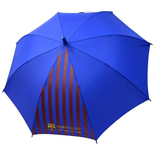 FCバルセロナ 子供用 長傘 ジャンプ 全2色 ブルー 8本骨 58cm・・・