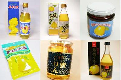 花梨 ギフトセット 合計8個 花梨液 ×2 柚子カリン×2 花梨のど飴 水飴 ×1 かりん蜂蜜漬け ハチミツ花梨 ×1 花梨のどあめ ×1 花梨エキス×1