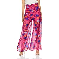 Finders Keepers Women's Visions Pant, Fuschia Floral