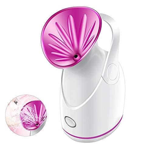 顔用加湿器ホットミストスプレーとサウナ吸入器スパ開口部、プロ...