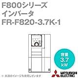 三菱電機 FR-F820-3.7K-1 ファン・ポンプ用インバータ FREQROL-F800シリーズ 三相200V (容量:3.7kW) (FMタイプ) NN