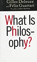 What Is Philosophy? (European Perspectives: a Series in Social Thought & Cultural Ctiticism)